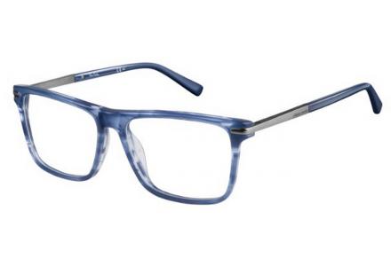 Lunettes de vue pour homme PIERRE CARDIN Bleu PC 6179 KFD 55/16