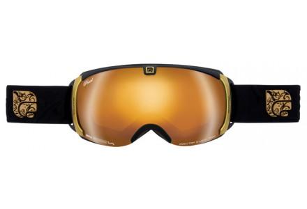 Masque de ski mixte CAIRN Noir Mat PEARL Noir Mat Or SPX 3000 IUM