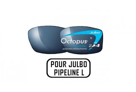 Lunettes de soleil mixte JULBO Noir Verres OCTOPUS pour Julbo PIPELINE L