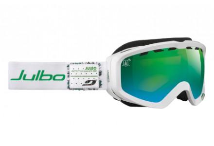 Masque de ski mixte JULBO Blanc PLANET Blanc/ Vert
