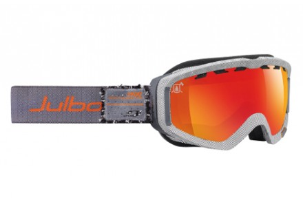 Masque de ski mixte JULBO Noir Blanc PLANET Tweed / Noir blanc