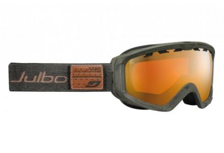 Masque de ski mixte JULBO Vert PLANET Green denim - polarisé