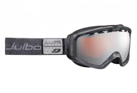 Masque de ski mixte JULBO Noir PLANET Black denim - polarisé