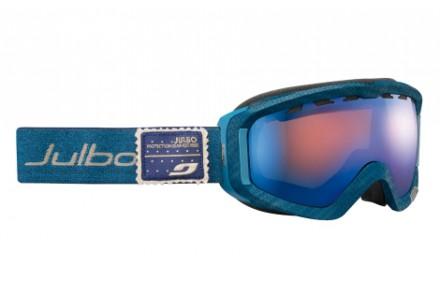 Masque de ski mixte JULBO Bleu PLANET Bleu denim - polarisé