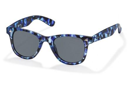 Lunettes de soleil mixte POLAROID Bleu PLD 6009/S S PRK C3 48/22