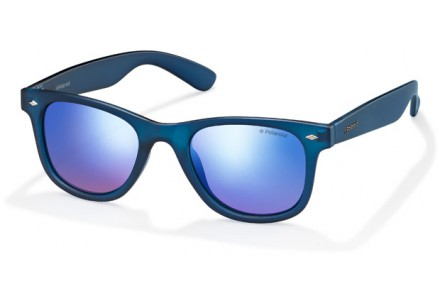 Lunettes de soleil mixte POLAROID Bleu PLD 6009/S S UJO JY 48/22