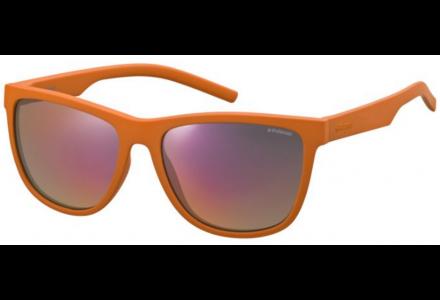 Lunettes de soleil mixte POLAROID Orange PLD 6014/S H0A OZ 56/17