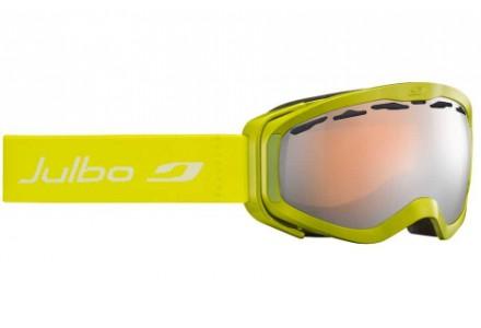 Masque de ski pour enfant JULBO Vert Pluto Vert Spectron 3 Miroir
