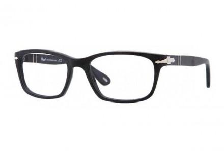 Lunettes de vue pour homme PERSOL Noir PO 3012V 990 52/18