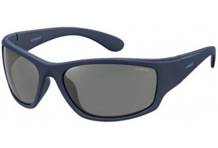 Lunettes de soleil pour homme POLAROID Bleu PLD 7005/S 863 C3 63/17