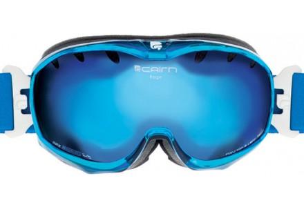 Masque de ski mixte CAIRN Bleu RAGE Cristal Bleu SPX 3000