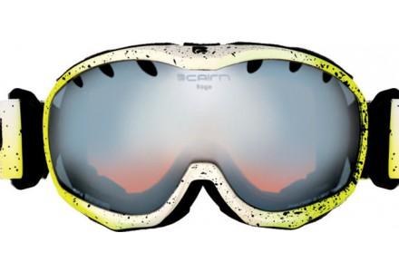Masque de ski mixte CAIRN Jaune RAGE Spray Jaune SPX 3000