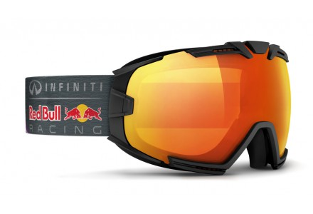 Masque de ski mixte RED BULL Noir RASCASSE FIRE RACE 001S