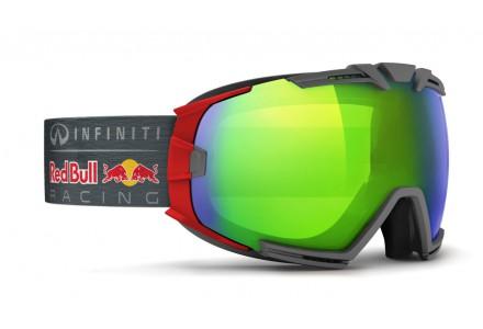 Masque de ski mixte RED BULL Rouge RASCASSE JUNGLE RACE 013S