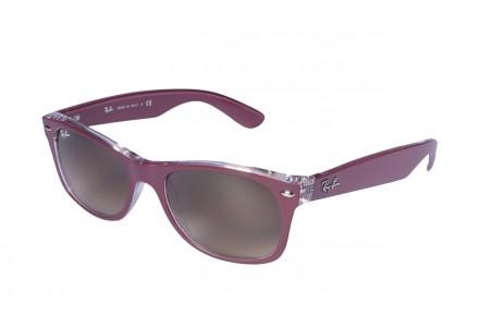 Lunettes de soleil mixte RAY BAN Violet RB 2132 NEW WAYFARER 605485 52/18