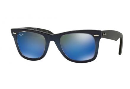 Lunettes de soleil mixte RAY BAN Bleu RB 2140 WAYFARER 120368 50/22