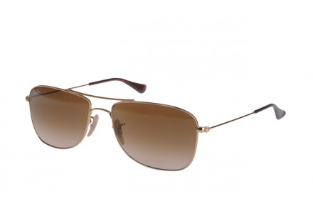 Lunettes de soleil pour homme RAY BAN Or RB 3477 HIGHSTREET 001/51-59/16