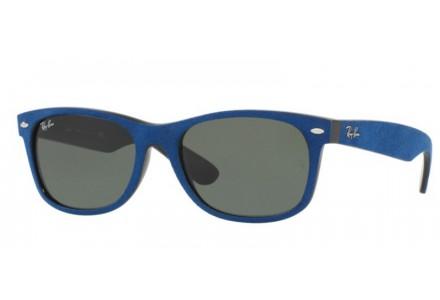Lunettes de soleil pour homme RAY BAN Bleu RB 2132 NEW WAYFARER 6239 58/18