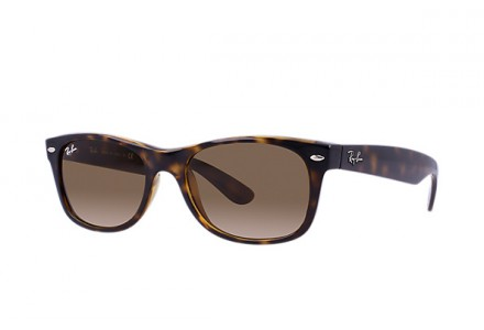 Lunettes de soleil mixte RAY BAN Ecaille RB 2132 NEW WAYFARER 710-55/18