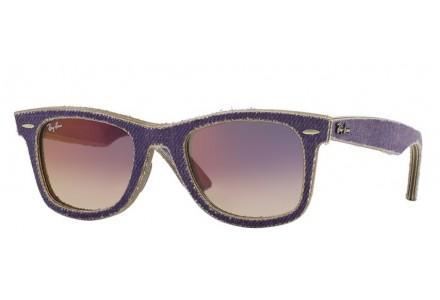 Lunettes de soleil mixte RAY BAN Violet RB 2140 WAYFARER 1167S5 50/22