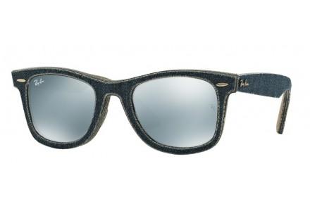 Lunettes de soleil mixte RAY BAN Bleu RB 2140 WAYFARER 119430 50/22