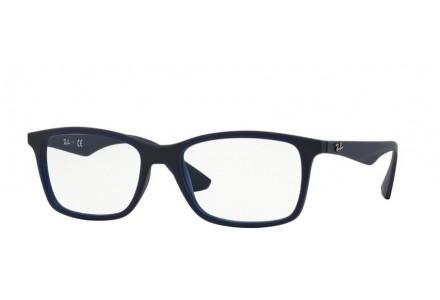 Lunettes de vue pour homme RAY BAN Bleu RX 7047 5450 54/17