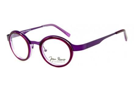 Lunettes de vue mixte JEAN RENO Violet RENO 1334 C2 53/18