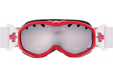 Masque de ski pour enfant CAIRN Rouge RUSH Rouge/Blanc Brillant SPX 3000