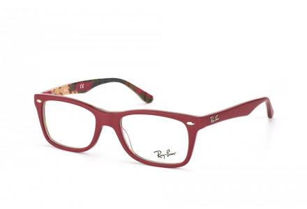 Lunettes de vue pour femme RAY BAN Rouge RX 5228 5406 50/17