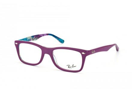 Lunettes de vue pour femme RAY BAN Violet RX 5228 5408 50/17