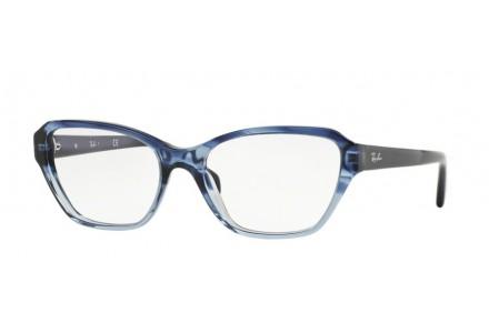 Lunettes de vue pour femme RAY BAN Bleu RX 5341 5572 53/17