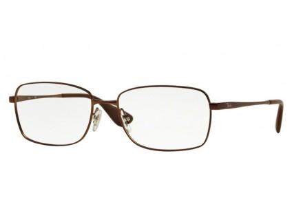 Lunettes de vue pour femme RAY BAN Marron RX 6336M 2758 55/16