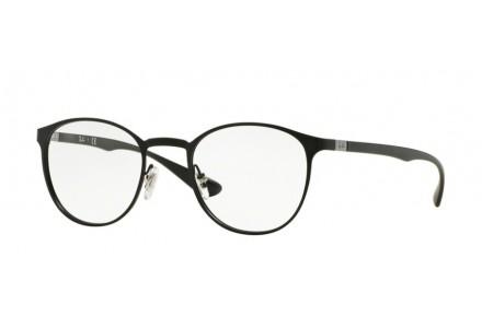 Lunettes de vue mixte RAY BAN Noir RX 6355 2503 47/20