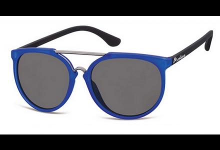 Lunettes de soleil mixte MONTANA Bleu S32B BLEU 55/17