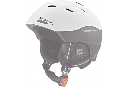 Casque de ski mixte CAIRN Noir Blanc SPECTRAL VISOR Noir Blanc mat  52/53