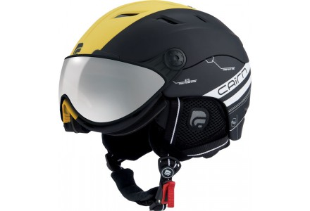 Casque de ski mixte CAIRN Jaune SPECTRAL VISOR MAGNET 113 54/55