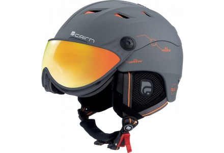Casque de ski mixte CAIRN Orange SPECTRAL VISOR MAGNET IUM 137 60/61