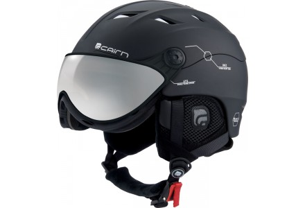 Casque de ski mixte CAIRN Noir Mat SPECTRAL VISOR MAGNET 202 56/57