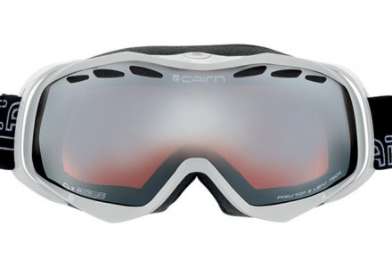 Masque de ski mixte CAIRN Blanc SPEED Blanc Brillant SPX 3000
