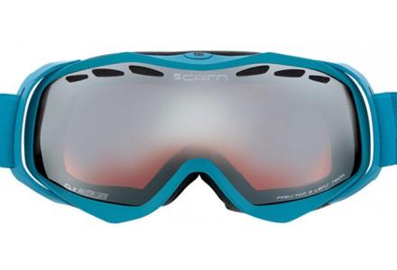 Masque de ski mixte CAIRN Bleu SPEED Bleu Fluo SPX 3000