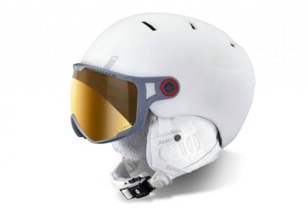 Casque de ski mixte JULBO Blanc SPHERE Blanc - Zebra - 54/56