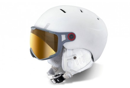 Casque de ski mixte JULBO Blanc SPHERE Blanc - Zebra - 56/58