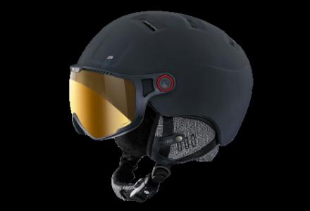 Casque de ski mixte JULBO Noir SPHERE Noir - Zebra - 58/60