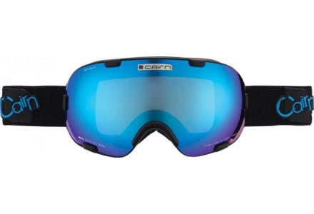 Masque de ski mixte CAIRN Noir Mat SPIRIT Noir Mat/Bleu SPX 3000
