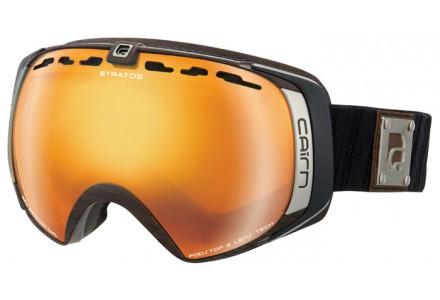 Masque de ski mixte CAIRN Noir STARTOS Bois SPX 3000 IUM