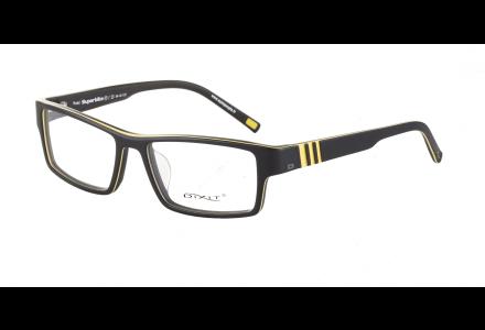 Lunettes de vue pour homme DIXIT Jaune SUPERBIKE S3 54/16