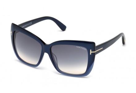 Lunettes de soleil pour femme TOM FORD Bleu TF 0390 89W 59