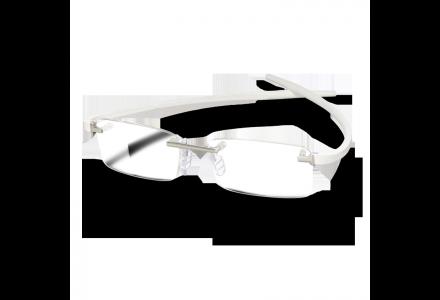 Lunettes de vue pour homme TAG HEUER Blanc TH 3741 007 50/17 REFLEX 2