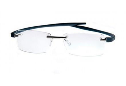 Lunettes de vue pour homme TAG HEUER Bleu TH 3743 005 54/17 REFLEX 2 RIMLESS