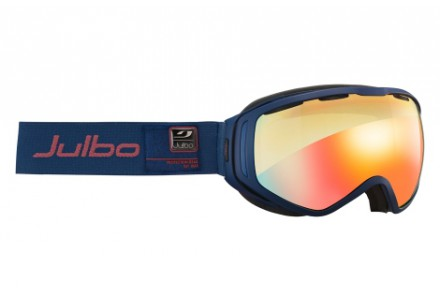 Masque de ski mixte JULBO Bleu TITAN BLEU Marine ZEBRA LIGHT